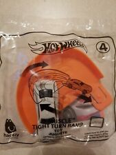 2019 McDonalds Happy Meal Hot Wheels Toy # 4 D MUSCLE TIGHT TURN RAMP New