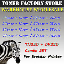 TN350 DR350 Toner Cartridge Drum Combo SET For Brother MFC-7820N 7820D 7225N lot