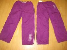 Skihose / Thermohose lila-violett Gr. 116  NEU
