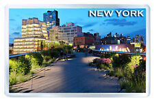 NEW YORK HIGH LINE PARK FRIDGE MAGNET SOUVENIR IMAN NEVERA