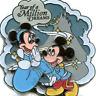 Disney Pin 50892 WDW Year of a Million Dreams Minnie Mickey Mouse Cinderella LE