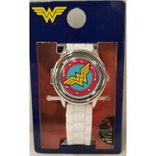 New Wonder Woman DC Comics Justice League Womens Fidget Spinner Silicone Watch