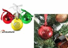 Wireless Bluetooth Bauble Speaker music Christmas tree present gift iPod phone