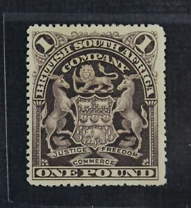 CKStamps: Rhodesia Stamps Collection Scott#72 Mint H OG