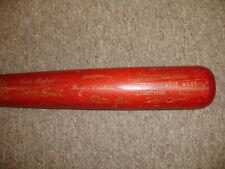 Vintage 1973 Cincinnati Reds H&B NL West Champions Red Bat w/ facsimile sigs