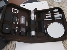 Travel Kit In Zippered Case Beautiful And Very Functional Never Used