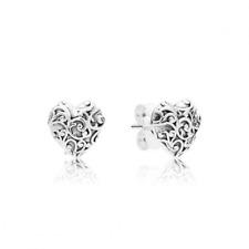 Pandora Regal Hearts Stud Earrings S925 ALE Genuine