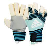 Adidas Men GK ACE Trance Goalkeeper Gloves Aqua Football Soccer Goalie BS4124