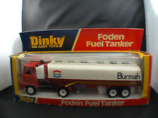 Dinky toys GB n° 950 FODEN Semi-remorque citerne BURMAH camion tanker en boite