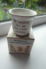 Wedgwood Beatrix Potter Egg Cup Mrs Tiggy-Winkle Boxed 1st Quality