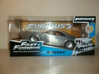 2016 JADA TOYS 1/24 FAST AND FURIOUS 6 DOM'S BARE METAL 1970 DODGE CHARGER R/T