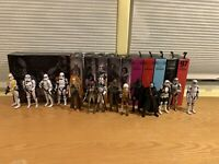 Star Wars hasbro black Series lot of 14. read description. Offers Welcome!!