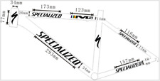Reflective Sticker Decal for specialized Body replacement Mountain Road Bike New