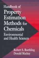 Handbook of Property Estimation Methods for Chemicals: Environmental Health