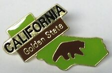 CALIFORNIA GOLDEN STATE LAPEL PIN HAT TAC NEW