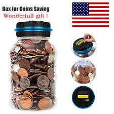 Digital US Dollar Money Saving Box Automatic Coin Bank Counter Piggy Bank Gifts