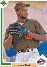 Jerald Clark Padres Outfielder 1991 Upper Deck # 624 7 yrs in MLB