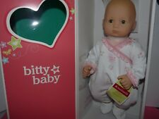 American Girl Doll Bitty Baby BB10 Blonde Hair & Green Eyes  NEW!!