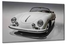 Leinwand Bild Porsche 356 A 1600 S Speedster Front Klassiker Oldtimer Art Front