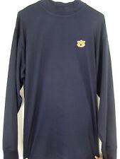Auburn Tigers Dri-Power Men's LG LS Logo Wicking Breathable Mock Neck Shirt NEW
