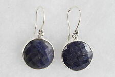 NEW Handmade Blue Sodalite and Sterling Silver Earrings