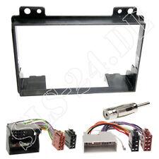 Autorradio 2-din enmarcar radio diafragma + cable del adaptador kit de integracion para ford fiesta