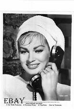 Anita Ekberg on phone VINTAGE Photo Hollywood Or Bust