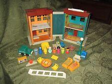 Fisher Price Little People Play Family Sesame Street 938 Ladder set bert bird W