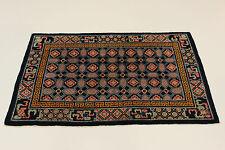 ANCIEN CHINE reimport USA um 1900 très bien PERSAN TAPIS d'Orient 1,27 x 1,99
