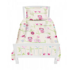 Hiboux Chenapan Twoo Lit simple Taille Housse Couette Lot & Taie D'oreiller Children's Kids Fille