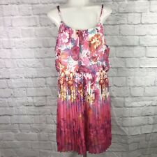 Bailey Girl Large Dress Spaghetti Strap Floral Print Summer
