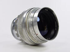 Vintage 1961 made. Early silver portrait Helios 40 1.5 85mm M42 M39. s/n 610649