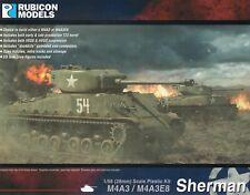 Rubicon Models 28mm 1/56 scale World War 2 US Sherman M4AS/M4A3E8