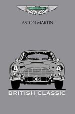 Aston Martin DB5 - 30x20 Inch Canvas Art - Classic Framed Picture Print Poster