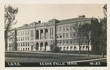 CEDAR FALLS IA – Iowa State Teachers College Real Photo Postcard rppc