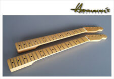 Telecaster Cou, One Piece Canadian Maple Neck, 21 Jumbo-frets, aged Nature