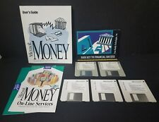 Microsoft Money : Financial Organizer Ver. 3.0 - Windows PC (1993) Big Box
