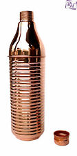 Pure Copper Water Bottle 750 ML Easy to Drink Bottle For Ayurveda Health Benifit