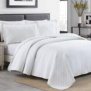 Quilt Set Velvet Soft Coverlet Bedding Bedspread Lightweight Full Queen King