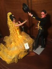 PAIR MIB Vintage Marin Chiclana Spanish Spain Flamenco Dancers Dolls Man & Woman