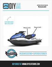 KAWASAK ULTRA 300 X 250 260 310 BLACK & BLUE Seat Skin Cover 07 08 09 10 11 +  ^