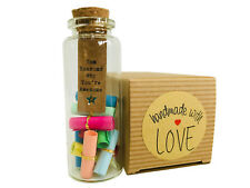 Ten Reasons Why You're Awesome - Ideal Gift - Handmade - Little Jar of Big Ideas