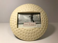 Golf Picture Photo Frame Shape of Golf Ball by Connoisseur Gift for Golf Lover