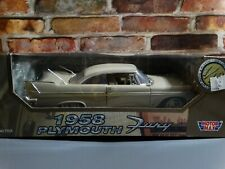 Motor Max 1958 Plymouth Fury 1:18 Scale Diecast Model Car