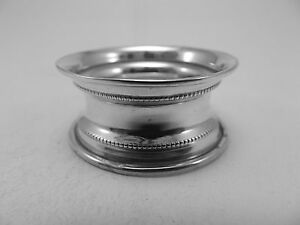 HM Silver Napkin Ring (381a) - Birm 1921 Barclay brothers -Not Engraved sterling