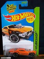 HOT WHEELS 2014 #205 -1 PROJECT SPEEDER ORNG AMER WORKSHOP