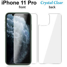 Anti-scratch 4H PET film screen protector Apple iphone 11 PRO Front and Back