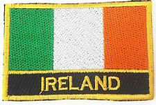 Irlande Brodé Coudre ou Patch Thermocollant Badge