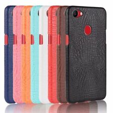 New-For OPPO F7 Ultra-thin PU Leather Crocodile Skin Phone Bag Case Luxury Cover