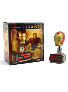 Sideshow Collectibles Iron Man Mark 3 Armor Marvel Archive Helmet Display Sample